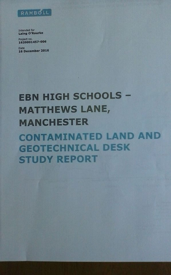 Contaminated Land Toxicology Report