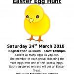 20180324 Easter Egg Hunt Poster