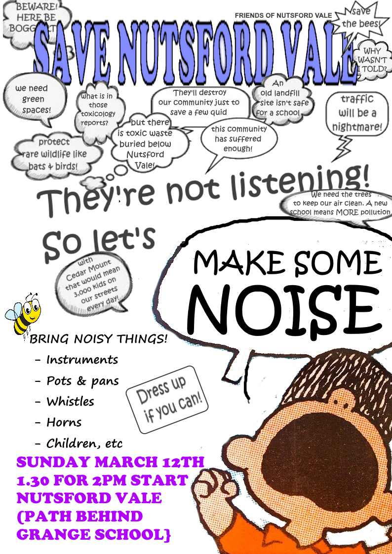 Make Some Noise Protest!