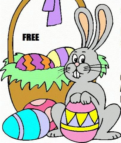 Come and join us for our annual Easter egg hunt!